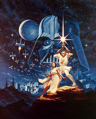 Classic star wars poster 1