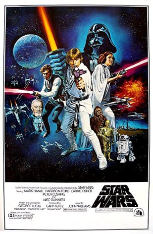 Classic star wars poster 2