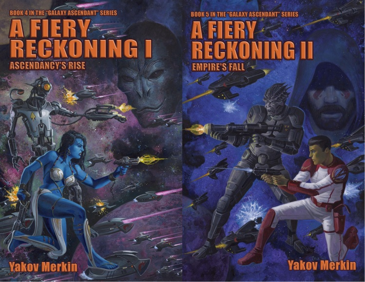 A Fiery Reckoning Covers Combined (With Text)