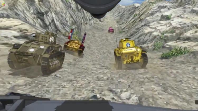 Girls Und Panzer Episode 1 Screenshot (1)