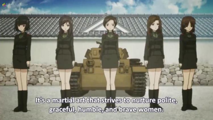 Girls Und Panzer Episode 1 Screenshot (6)