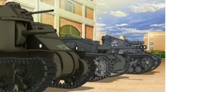 Girls Und Panzer Episode 2 Screenshot (11)