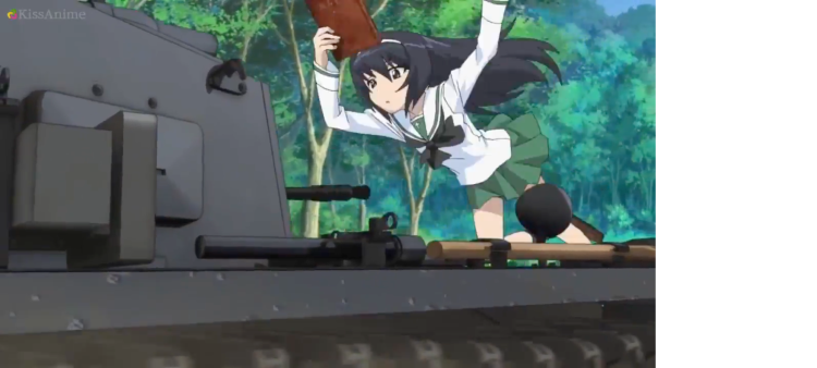 Girls Und Panzer Episode 3 Screenshot (1)