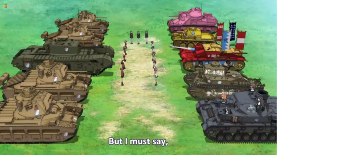 Girls Und Panzer Episode 3 Screenshot (14)