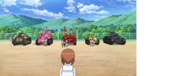 Girls Und Panzer Episode 3 Screenshot (7)