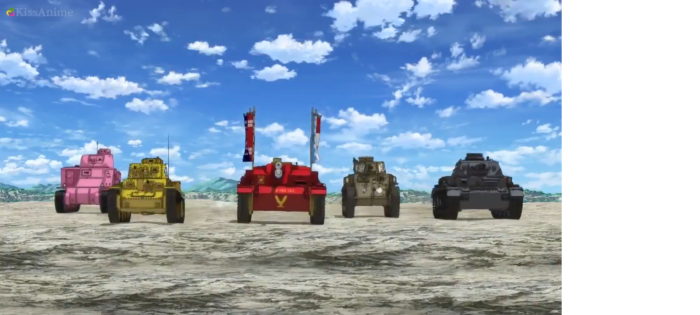 Girls Und Panzer Episode 4 Screenshot (1)
