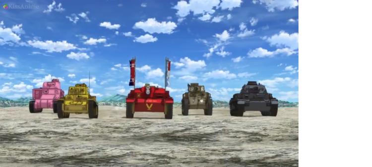 Girls Und Panzer Episode 4 Screenshot (1)