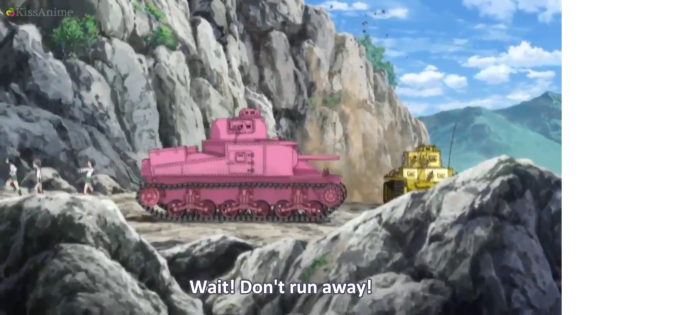 Girls Und Panzer Episode 4 Screenshot (10)