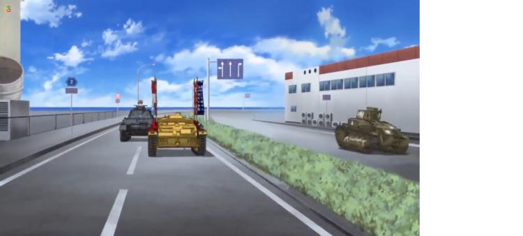 Girls Und Panzer Episode 4 Screenshot (12)