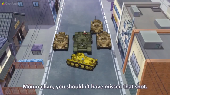 Girls Und Panzer Episode 4 Screenshot (18)