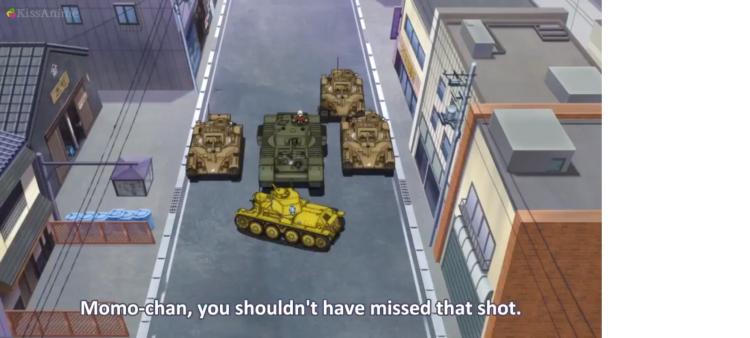 Girls Und Panzer Episode 4 Screenshot (18)