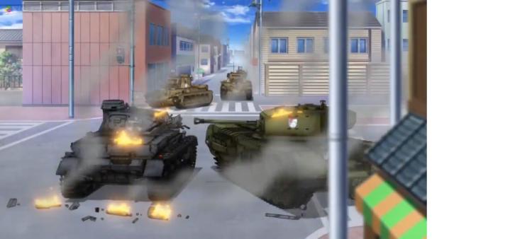 Girls Und Panzer Episode 4 Screenshot (19)