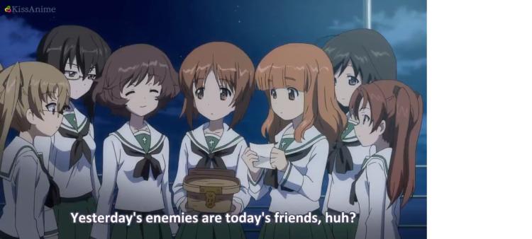 Girls Und Panzer Episode 4 Screenshot (26)