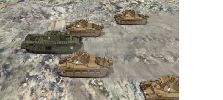 Girls Und Panzer Episode 4 Screenshot (3)