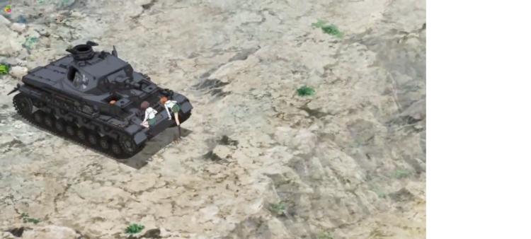 Girls Und Panzer Episode 4 Screenshot (4)