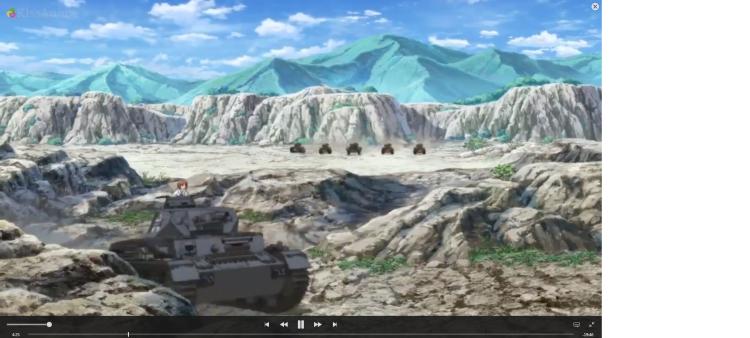 Girls Und Panzer Episode 4 Screenshot (5)