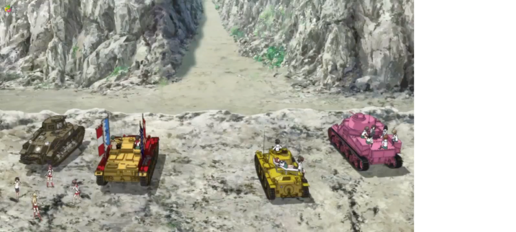 Girls Und Panzer Episode 4 Screenshot (7)