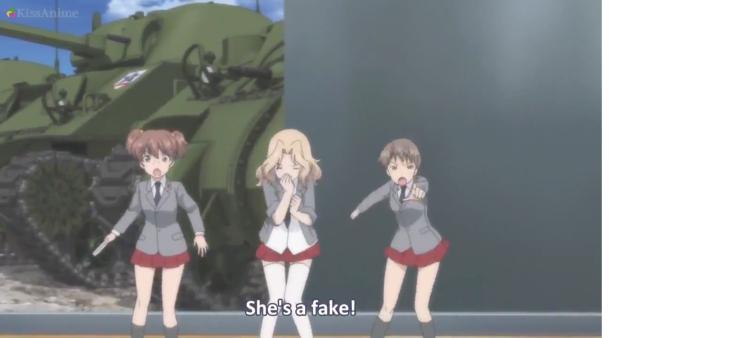 Girls Und Panzer Episode 5 Screenshot (15)