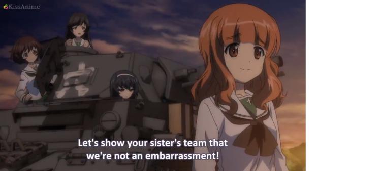 Girls Und Panzer Episode 5 Screenshot (18)
