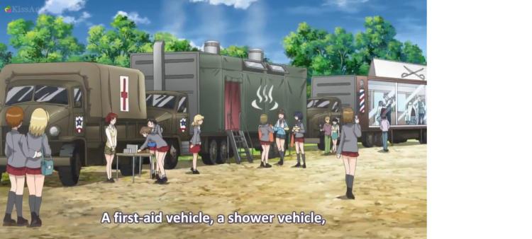 Girls Und Panzer Episode 5 Screenshot (21)