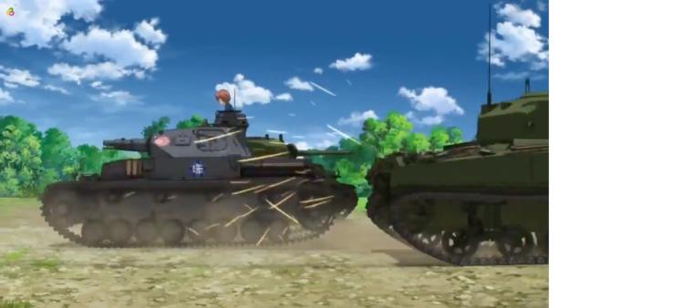 Girls Und Panzer Episode 5 Screenshot (30)