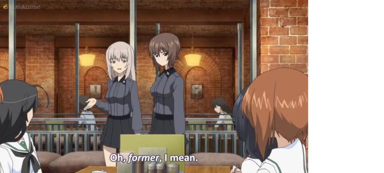 Girls Und Panzer Episode 5 Screenshot (4)