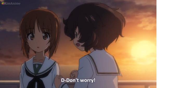 Girls Und Panzer Episode 5 Screenshot (7)