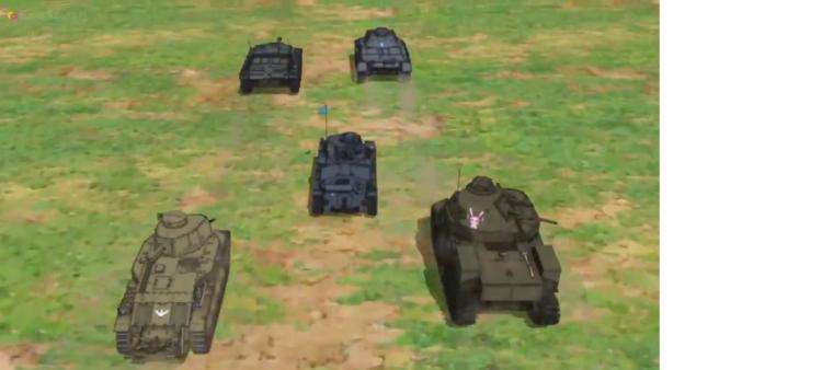 Girls Und Panzer Episode 6 Screenshot (14)