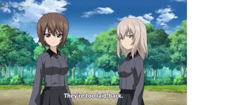 Girls Und Panzer Episode 6 Screenshot (26)