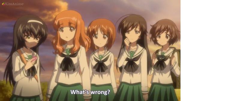 Girls Und Panzer Episode 6 Screenshot (27)