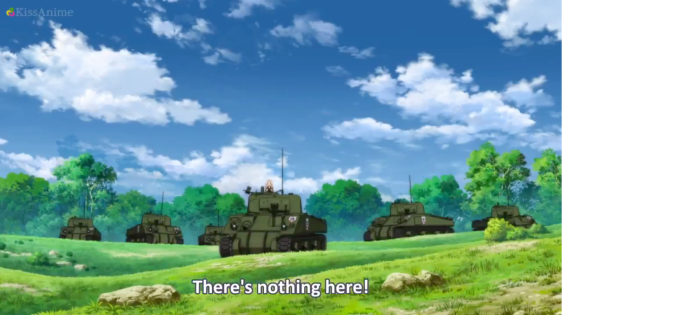 Girls Und Panzer Episode 6 Screenshot (5)