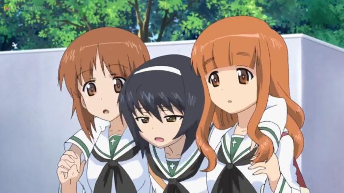 Girls Und Panzer Episode 7 Screenshot (14)