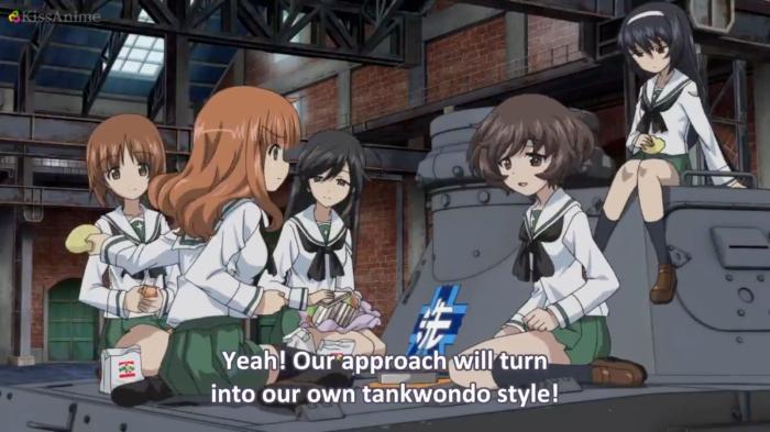 Girls Und Panzer Episode 7 Screenshot (18)