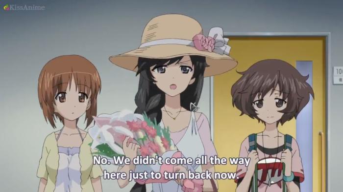 Girls Und Panzer Episode 7 Screenshot (2)