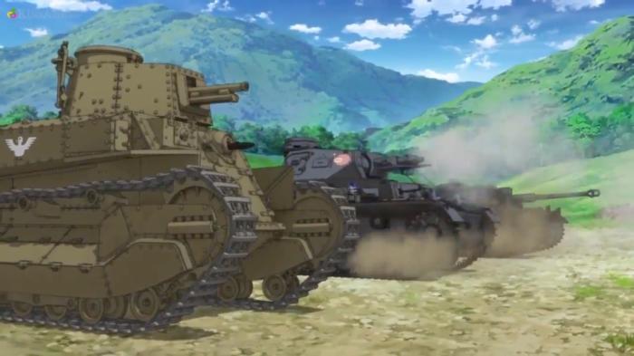 Girls Und Panzer Episode 7 Screenshot (22)