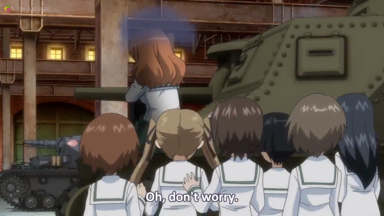 Girls Und Panzer Episode 7 Screenshot (25)