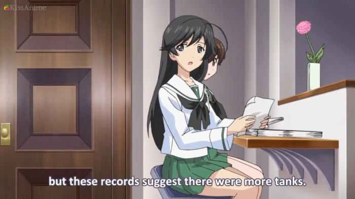 Girls Und Panzer Episode 7 Screenshot (27)