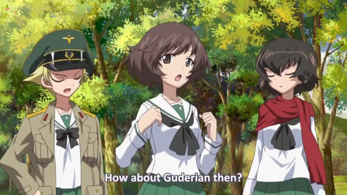 Girls Und Panzer Episode 7 Screenshot (30)