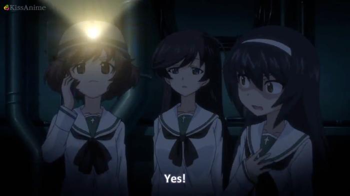 Girls Und Panzer Episode 7 Screenshot (34)