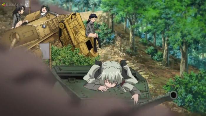 Girls Und Panzer Episode 7 Screenshot (36)