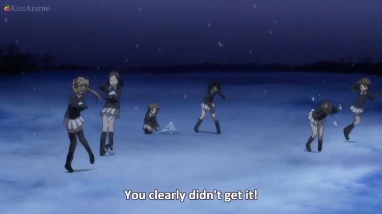 Girls Und Panzer Episode 8 Screenshot (14)