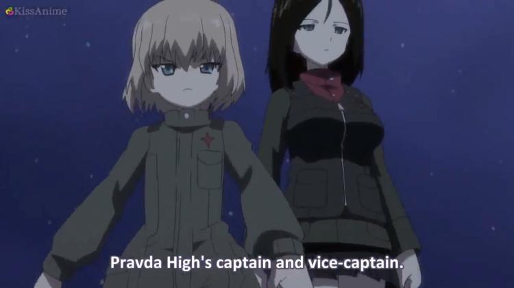 Girls Und Panzer Episode 8 Screenshot (15)
