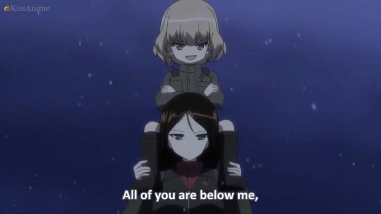 Girls Und Panzer Episode 8 Screenshot (16)