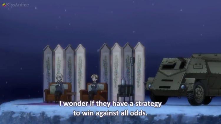 Girls Und Panzer Episode 8 Screenshot (18)