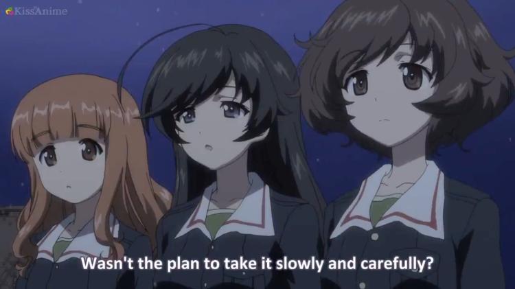 Girls Und Panzer Episode 8 Screenshot (19)