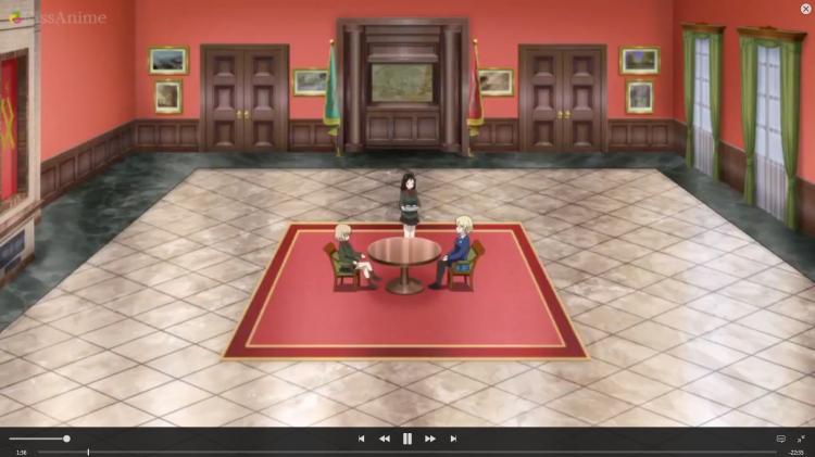 Girls Und Panzer Episode 8 Screenshot (2)
