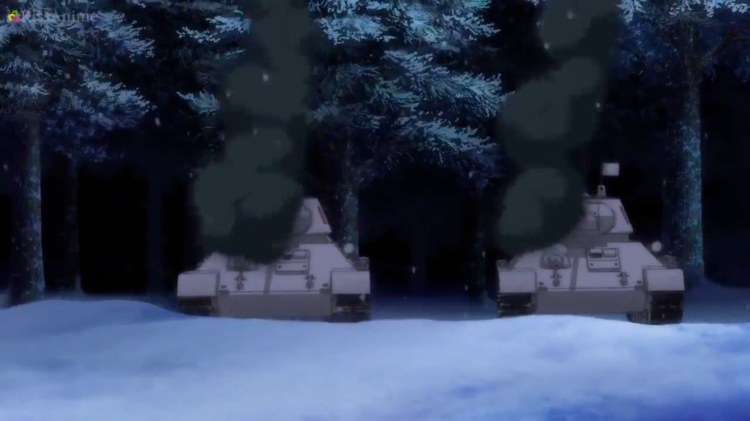 Girls Und Panzer Episode 8 Screenshot (26)