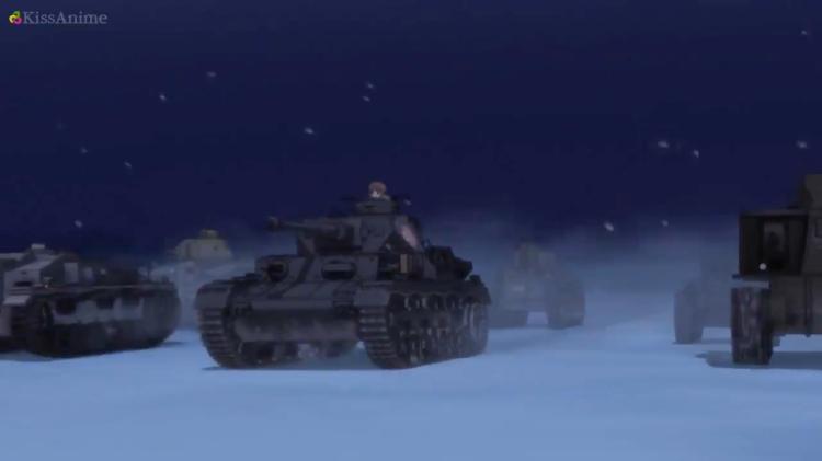 Girls Und Panzer Episode 8 Screenshot (28)
