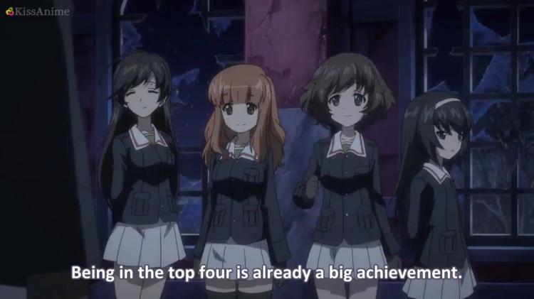 Girls Und Panzer Episode 8 Screenshot (36)