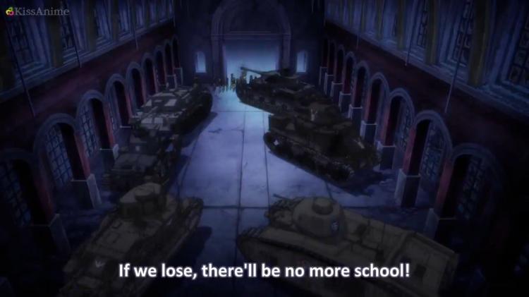 Girls Und Panzer Episode 8 Screenshot (39)